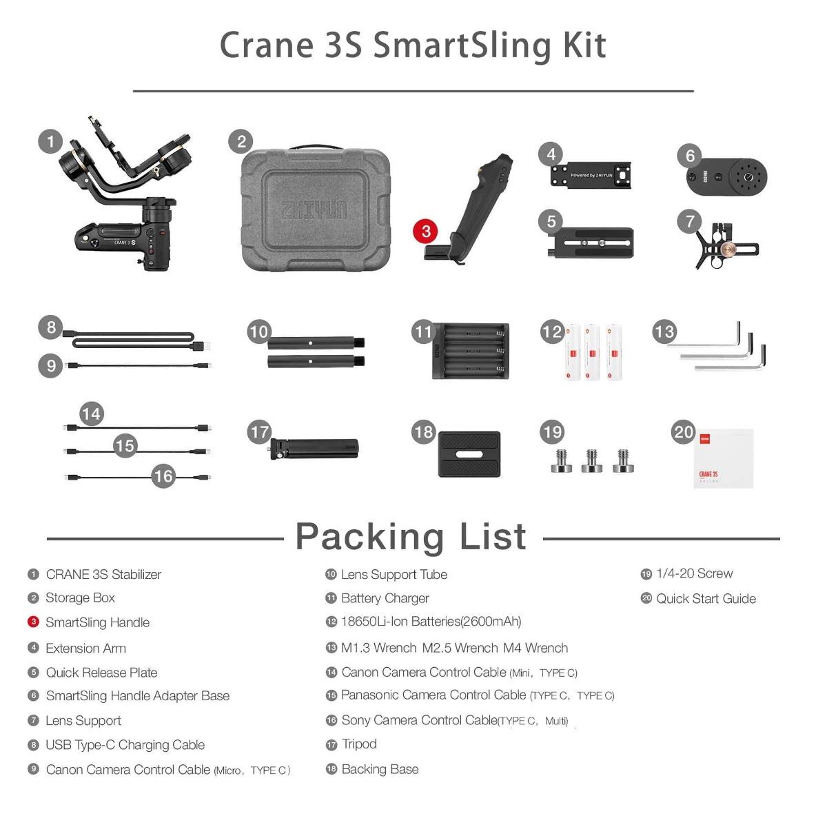 Zhoyung Crane S SmartSling