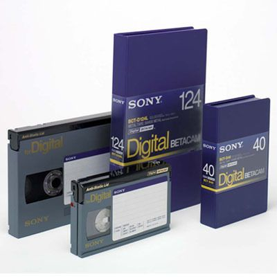 Sony Digital Betacam Kassetten (10er Pack)