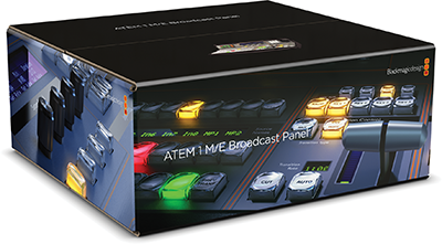 Blackmagic ATEM 1 M/E Broadcast Panel (BM-SWPANEL1ME)