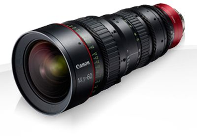 Canon CN-E14.5-60mm T2.6 L SP