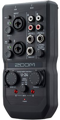 ZOOM U-24 Audio-Interface