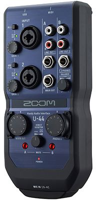 ZOOM U-44 Audio-Interface