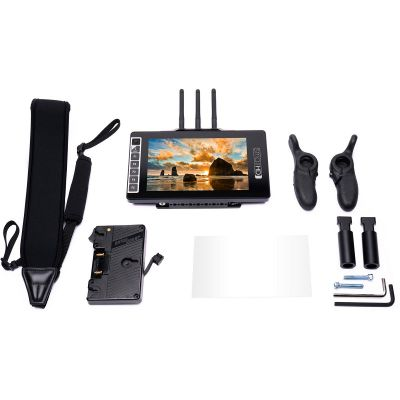 "SmallHD 703 Bolt 7"" Wireless Monitor Gold Mount Directors Bundle (HD-3445)"