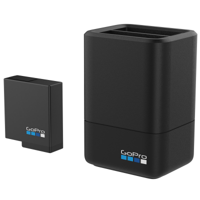 GoPro Dual Battery Charger + Battery (HERO6 Black/HERO5 Black)