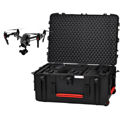 HPRC 2780W Hard Case with Wheels for DJI Inspire 2 (INS2-2780W-01)