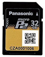 Panasonic AJ-P2M032AG microP2 Karte
