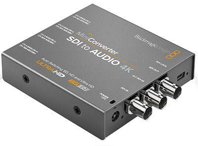 Blackmagic Mini Converter SDI - Audio 4K (BM-CONVMCSAUD4K)