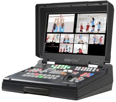 Datavideo HS-2200 portabler 6 Kanal Video- und Audiomischer