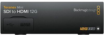 Blackmagic Teranex Mini SDI - HDMI 12G (BM-CONVNTRM-AA-SDIH)