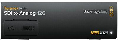 Blackmagic Teranex Mini SDI - Analog 12G (BM-CONVNTRM-BA-SDIAN)