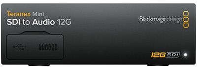 Blackmagic Teranex Mini SDI - Audio 12G (BM-CONVNTRM-CA-SDIAU)