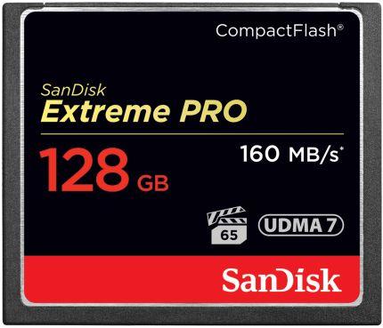 SanDisk Extreme PRO CompactFlash Speicherkarte 128GB