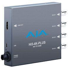 AJA Hi5-4K-Plus 4K/UHD-SDI auf HDMI2.0 Konverter
