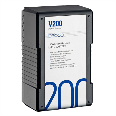 Bebob V200 Li-Ion V-Mount Akku