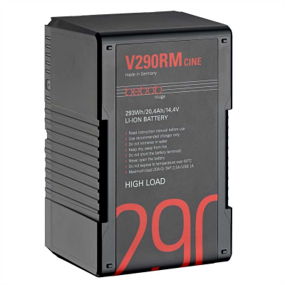 Bebob V290RM-CINE V-Mount Li-Ion High Load Akku 14.4V / 294Wh