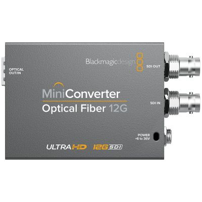 Blackmagic Mini Converter Optical Fiber 12G (BM-CONVMOF12G)