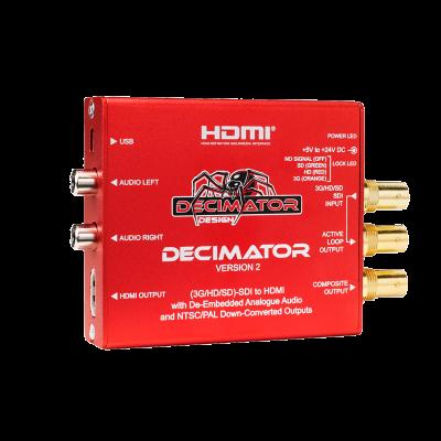 Decimator Design DECIMATOR 2 SDI zu Composite/HDMI-Konverter