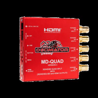 Decimator Design MD-QUAD V3 1- bis 4-Kanal Multiviewer