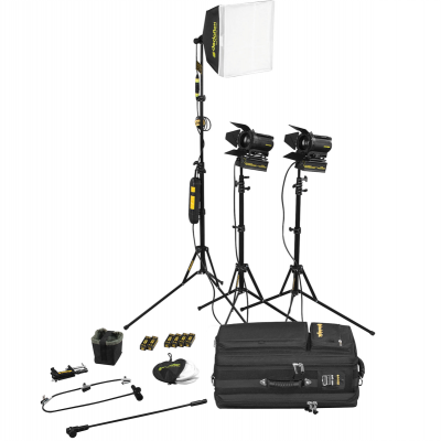 Dedolight Portable Studio 3-Light Kit SPS3