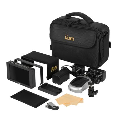 """Ikan DH5e 5"""" Full HD HDMI-Monitor mit Touchscreen Deluxe Kit"""