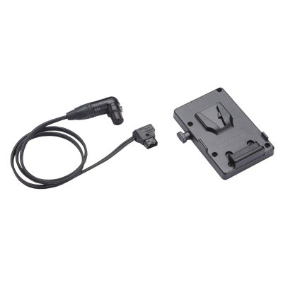 Litepanels V-Mount Battery Bracket with P-Tap to 3-pin XLR cable (900-3508)