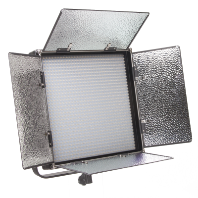 Ikan IFD1024 Featherweight Daylight LED Light w/ AB & V-Mount Plates