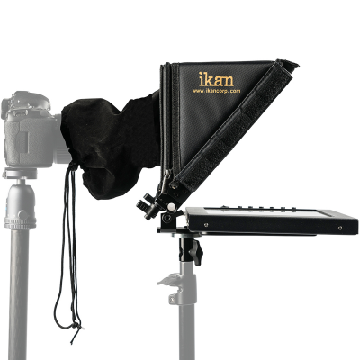 """Ikan 12"""" Portable Teleprompter for Light Stand (PT1200-LS)"""