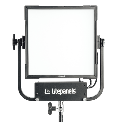 Litepanels Gemini 1x1 Soft RGBWW LED Panel (Standard Yoke, EU Power Cable) (945-1101)