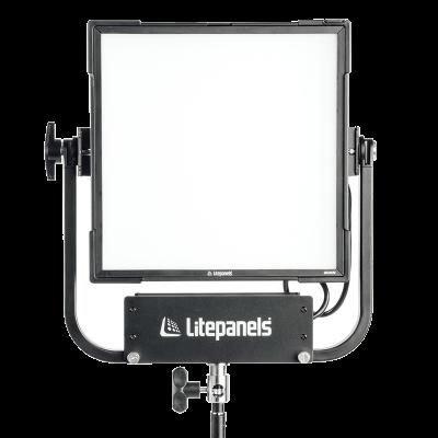 Litepanels Gemini 1x1 Soft RGBWW LED Panel (Pole-Operated Yoke, EU Power Cable) (945-1111)