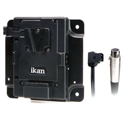 Ikan Pro Akku Adapter Kit für V-Mount w/ XLR P-Tap (PBK-S-X)