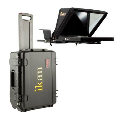 """Ikan Professional 12"""" Portable Teleprompter Travel Kit (PT4200-TK)"""