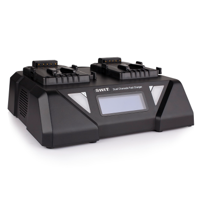 Swit S-3812S 2-ch V-mount Fast Charger