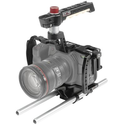 Shape Blackmagic Pocket Cinema 4K, 6K Cage with 15mm Rod System (C4KROD)