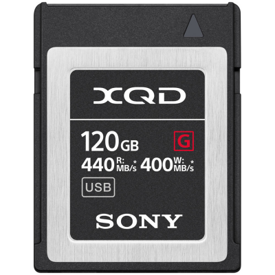 Sony QDG120F XQD Memory Card 120GB