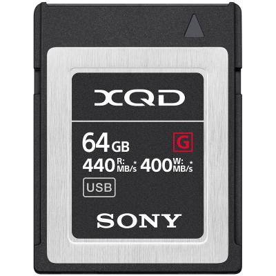 Sony QDG64F XQD Memory Card 64GB