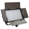 Ikan IFB576 Bicolor LED-Panel mit AB & V-Mount Platten