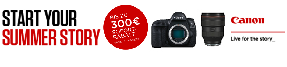 Canon Sommerpromotion