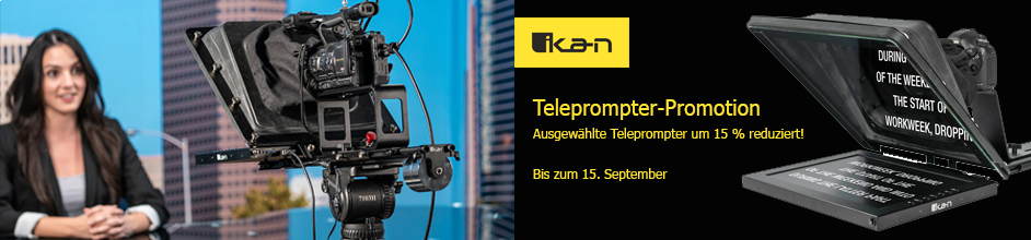 Ikan Teleprompter-Promotion